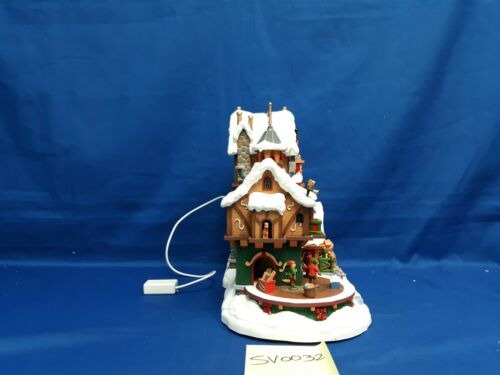 Lemax Village Collection Elf Made Toy Factory #75190 As is SV0032