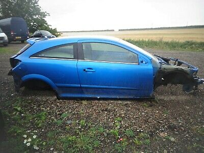 ASTRA MK5 VXR 3-DOOR BODY SHELL & ID, ARDEN BLUE. HPI CLEAR. 57-PLATE. 64k MILES