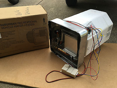 Suburban Manufacturing RV Water Heater 6 gallon motorhome boat used Model Sw6D