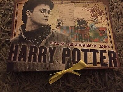 The Noble Collection HARRY POTTER FILM ARTEFACT BOX Collectible