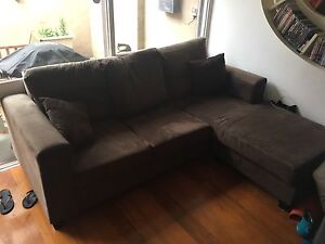 3 seater lounge plus chaise Rozelle Leichhardt Area Preview