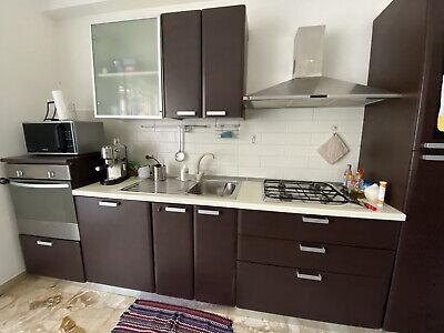 cucina Ciesse usata completa di elettrodomestici Candy, lunghezza 330cm