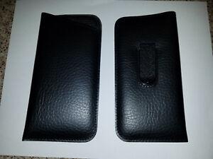 8fefcc1bbb3e Soft Eyeglass Pouch Eyewear Case with Pocket Clip In Black