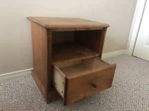 Wood Night Stand