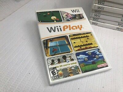 Wii Play 2007 - FAST FREE SHIPPING TODAY NINTENDO COMPLETE FREE RETURNS SHIP #*