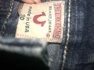 Woman's True Religion Jeans size 32