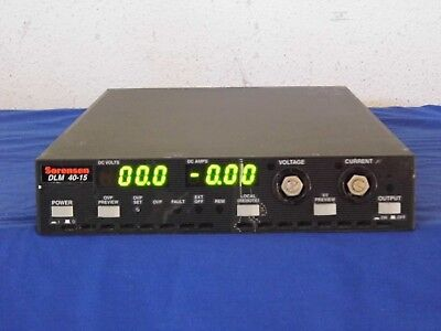Sorensen Dlm40-15 M13m9g Gpib Dc Power Supply 30 Day Warranty
