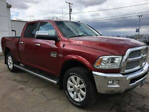 2015 RAM 2500 Longhorn Ventilated Seats, GPS, Backup Camera
