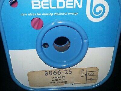Belden 8866  40kv High-voltage Lead  25 Ft Spool