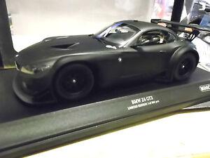 BMW Z4 GT3 E89 GT Masters VLN 24h Plainbody black Street 2012 Minichamps 1:18
