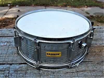 Cannon Chrome Steel Snare Drum  8 lug 14
