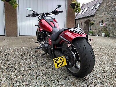 """Yamaha XV1900 """"Blacked Out"""" Raider, Low Miles, Very High Spec"""