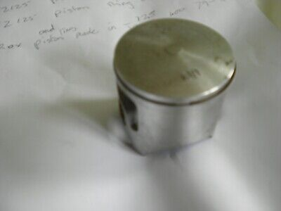 <em>YAMAHA</em> YZ125 PROX PISTON AND RING NEW OLD STOCK MADE IN JAPAN 100MM