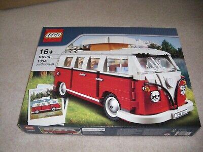 New Lego Creator Expert Volkswagen T1 Camper Van 10220, Unopened, Sealed