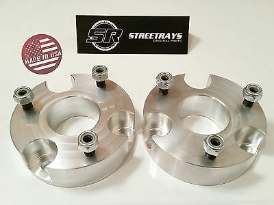 "StreetRays CNC Billet 2"" Front Leveling Lift Kit 2006-2018 Dodge RAM 1500 4WD"