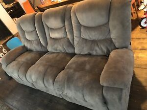 Couch and love seat.