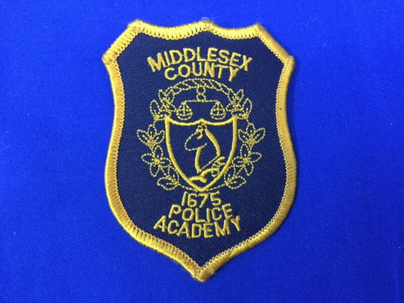 Middlesex County Police Academy (New Jersey) Hat Patch FREE SHIPPING