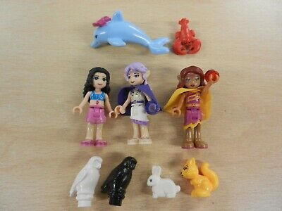 LEGO Mini Figures - Elves & Friends with Animals (Lot 2)