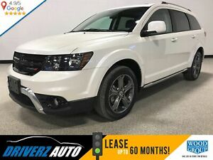 2018 Dodge Journey Crossroad 7 PASSENGER, LEATHER, REAR ENTER...