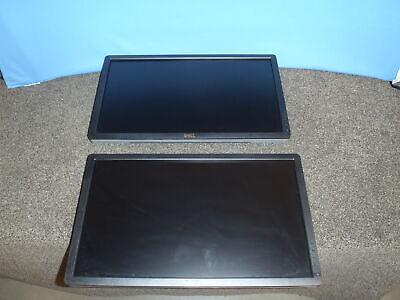 "Lot of 2 Dell 22"" Widescreen LED LCD Monitor Screen U2212HMc  Grade A"