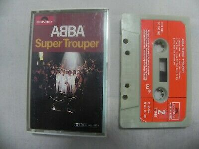 Abba - Super Trouper 1981 Mega Rare Korea Cassette Tape + Orig Case