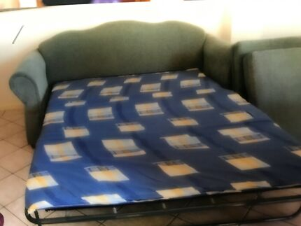 3 seat sofa bed and matching 2 seater