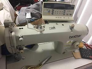 Brother industrial sewing machine and Goldex overlocker Carseldine Brisbane North East Preview