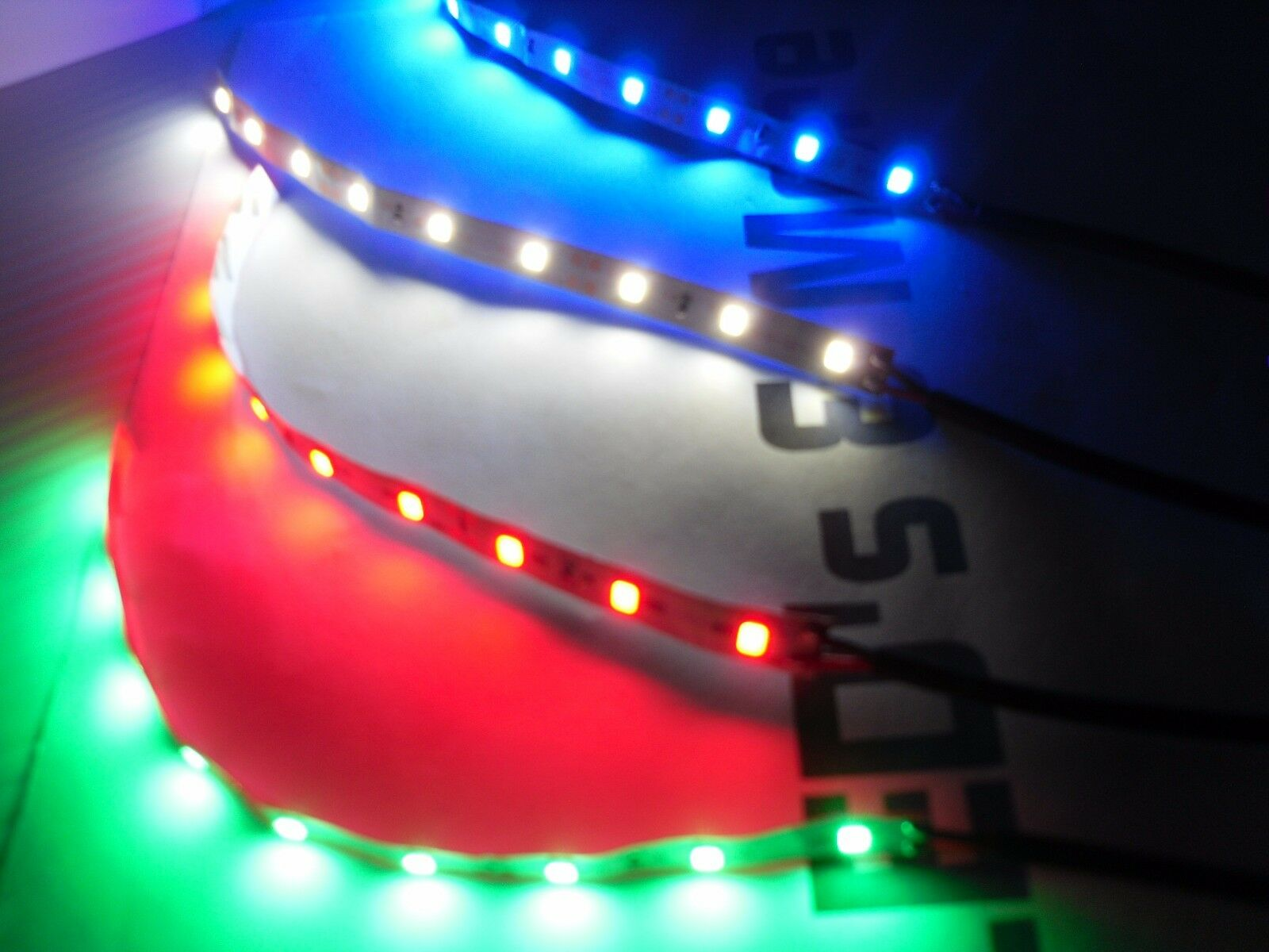 LED Lights for Acrylic Lamp Bases Edge lit sign 6 Colors W