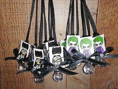 48pcs Baby Batman and the Joker theme. Baby Shower Birthday and