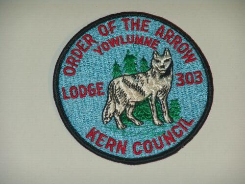 OA lodge 303 R3 Kern Council