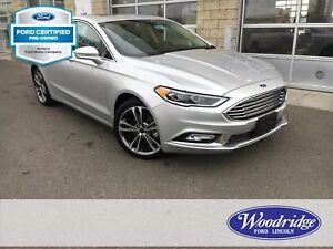 2017 Ford Fusion Titanium CERTIFIED PRE-OWNED, NAVIGATION, HE...