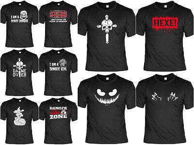 Cooles Halloween T-Shirt - lustige Halloween T-Shirt - grusel Motiv T-Shirts