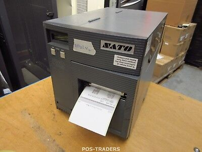 """SATO CL408E Parallel Thermo Label Drucker REWINDER 203dpi 4.1"""" 104mm - 17702.4 M"""