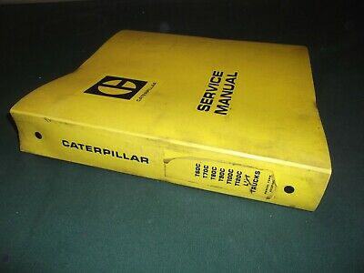 Caterpillar T60c T70c T80c T90c T100c T120c Forklift Service Shop Manual