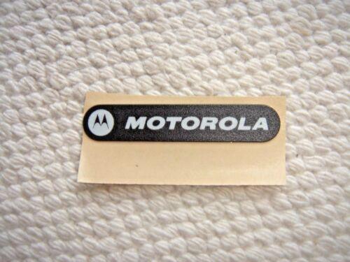 MOTOROLA XPR7350 XPR7550 NAMEPLATE LABEL 33012037001 inc FREE SHIPPING