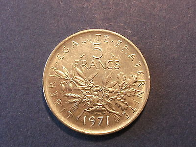 Frankreich 5 Franc  1971
