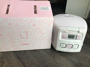 tiger rice cooker 3cups (hello kitty)