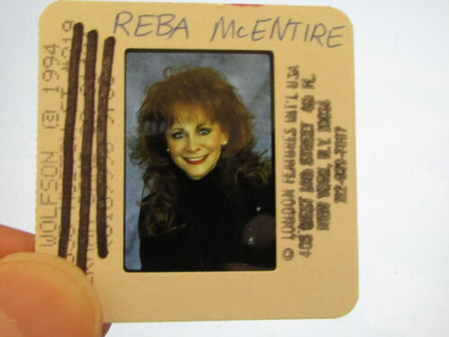 Original Press Promo Slide Negative - Reba McEntire - 1994 - A