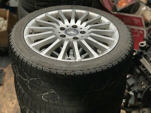 225/45/R17 5x112 Selling 4 winter tires pirelli
