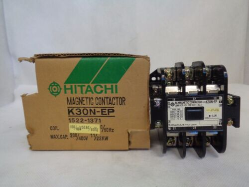 NEW HITACHI K30N-EP JEMAC3-1-0 MAGNETIC CONTACTOR