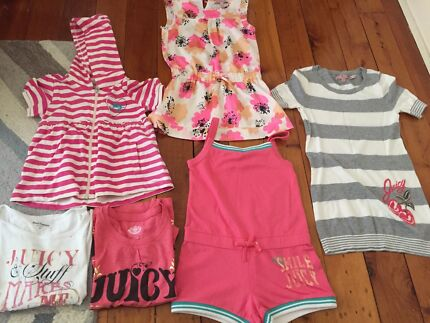 Girls - size 6 Juicy Couture Bundle (New and Used) Mosman Mosman Area Preview