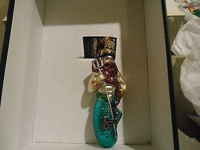 Neptune Old World Christmas glass ornament