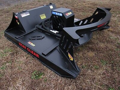 Skid Steer Attachment 60 Direct Drive Brush Cutter Bush Hog Fits Bobcat Gehl
