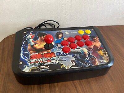 10th Anniversary Tekken 5 V Namco Hori Arcade Fight Joy Stick Playstation 2 Ps2  Ps2 Arcade Joystick