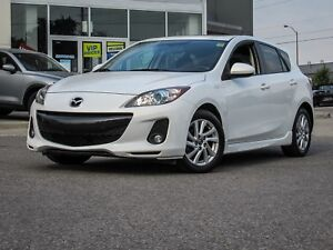 2013 MAZDA3 GS-L SPORT TOURING W/ LUX PKG BOSE AUDIO/LEATHER