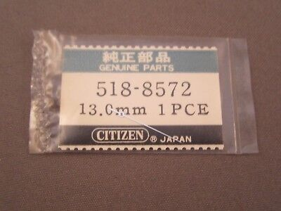 Centre Seconds Hand, Stainless Steel, Citizen 518-8572