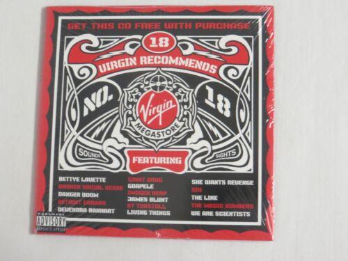 VIRGIN RECOMMENDS 18 CD Broken Social Scene James Blunt KT Tunstall Goapele SIA