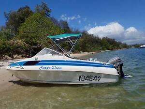 Haines Signature 460C with 60hp Mariner ideal for Family /Fishing
