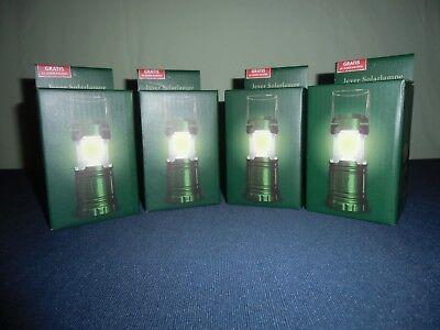 Jever Solarlampe 4 Stück NEU und OVP