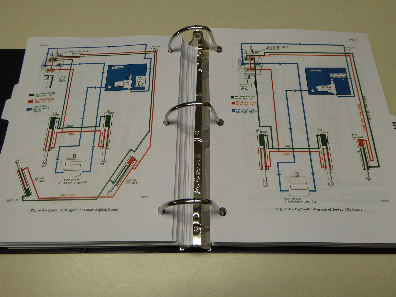 case 310g 350 crawler dozer bulldozer service manual repair shop new case  310 dozer wiring diagram